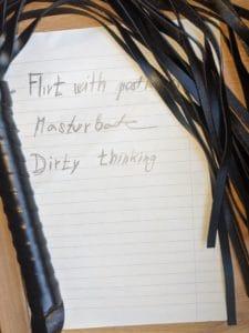 punishment diary sex tip